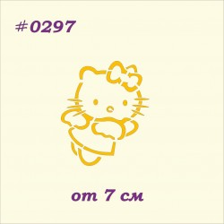 Трафарет 0297 Hello Kitty 2